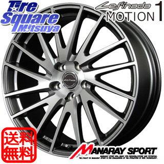 ミシュラン LATITUDE Sport 3 T0 サマータイヤ 255/45R20 MANARAY Lefinada MOTION1 トヨタ・レクサス専用 ホイールセット 4本 20 X 8.5 +35 5穴 114.3