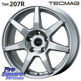TOYO ウィンター トランパス TX スタッドレスタイヤ ● 215/55R17 TECMAG Type 207R 17 X 7 +40 5穴 110