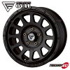 New article including 16 inches of DELTA FORCE OVAL 16x7.0 5/114 .3+42 mat black opening country A/T+ 215/70R16 tire wheel four set Delica D5