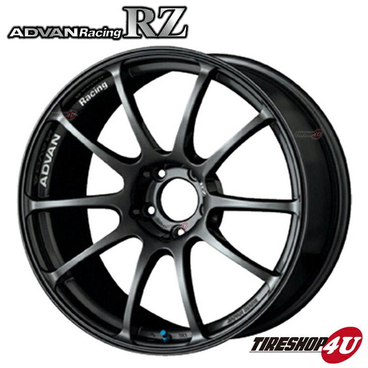 【11/24 10:00-23:59 最大17倍】17インチADVAN Racing RZ 17×8.0J 5/114.3 +37 HUB:73φDG(ダークガンメタリック) アドバンレーシング 新品アルミホイール1本価格 フローフォーミング ディープフェイス