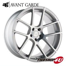 20インチ メルセデスベンツ Eクラス(W213) ag wheels M590 20×8.5J &10.0J サテンシルバー(艶消し)(AVANTGARDE)当社指定輸入タイヤ 245/35R20 & 275/30R20 新品タイヤホイールセット4本価格