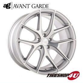 22インチ メルセデスベンツ MLクラス/GLEクラス(W166)ag wheels M580 22×9.0J サテンシルバー(艶消し)(AVANTGARDE)当社指定輸入タイヤ 265/35R22 新品タイヤホイールセット4本価格