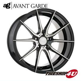 22インチ メルセデスベンツ Gクラス(W463)ag wheels M652 22×10.5J ブラックマシン/グロスブラック/マットブラック/ブロンズ/ガンメタ(AVANTGARDE)当社指定輸入タイヤ 305/40R22 新品タイヤホイールセット4本価格