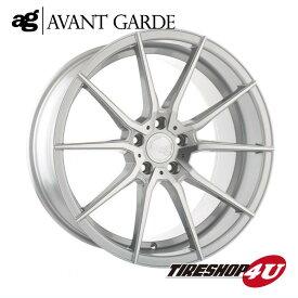 22インチ メルセデスベンツ Gクラス(W463)ag wheels M652 22×10.5J シルバーマシン/グロスブラック/マットブラック/ブロンズ/ガンメタ(AVANTGARDE)当社指定輸入オフロードタイヤ 33x12.50R22 新品タイヤホイールセット4本価格