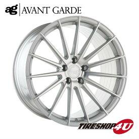22インチ メルセデスベンツ GLクラス/GLSクラス(W166)ag wheels M615 22×9.0J シルバーマシン/グロスブラック/マットブラック/ブロンズ/ガンメタ(AVANTGARDE)当社指定輸入タイヤ 285/40R22 新品タイヤホイールセット4本価格