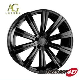 22インチ メルセデスベンツ MLクラス/GLEクラス(W166)AGラグジュアリー ヴァンガード 22×9.0J グロスブラック(AVANTGARDE)当社指定輸入タイヤ 265/35R22 新品タイヤホイールセット4本価格