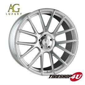 22インチ メルセデスベンツ GLクラス/GLSクラス(W166)AGラグジュアリー ヴァンキッシュ 22×9.0J マシンシルバー(AVANTGARDE)当社指定輸入タイヤ 285/40R22 新品タイヤホイールセット4本価格