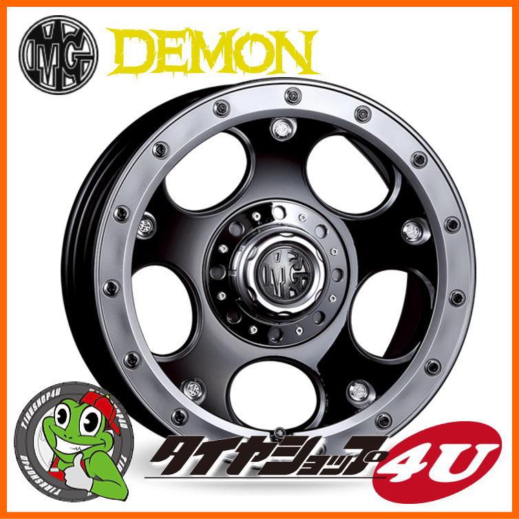 17インチ クリムソン MG デーモン 17x8.0 ブラックポリッシュBFグッドリッチ オールテレーン KO2 265/65R17タイヤホイール4本セット ハイラックスサーフ、プラド120/150、ハイラックス125など 新品
