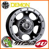 17 inches of crimson MG daemon 17x8.0 black NITTO テラグラップラー 265/70R17 tire wheel four set FJ cruisers to polish, プラド 120/150, new article including cony 125 (lift up required)