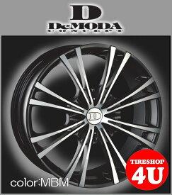 20インチDeMODA MIURA(ディモーダ ミウラ) レクサス RX フォード エクスプローラー(HK) 20×8.5J 5/114.3 ET35 マットブラックマシン(MBM)265/45R20 ※当社指定輸入タイヤ新品タイヤホイール4本セット価格 JWL規格適合品