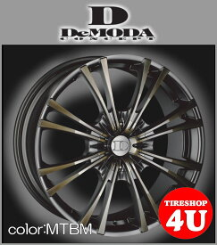 22インチDeMODA MIURA(ディモーダ ミウラ) メルセデスベンツ MLクラス(W164/W166) 22×9.5J 5/120 ET45 マットチタンニウムブラックマシン(MTBM)265/35R22 ※当社指定輸入タイヤ新品タイヤホイール4本セット価格 JWL規格適合品