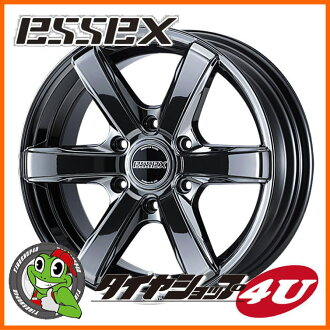 20 inches of ESSEX TYPE EX 20 X 7.5J 6/139.7 +18 S B sea Essex type EC-20 EC20 high ace 200 system