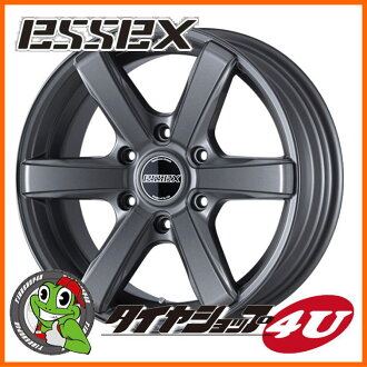 17 inches of ESSEX TYPE EX 17 X 6.5J 6/139.7 +38 semi-gross cancer metallic Essex type EC-17 EC17 high ace 200 system