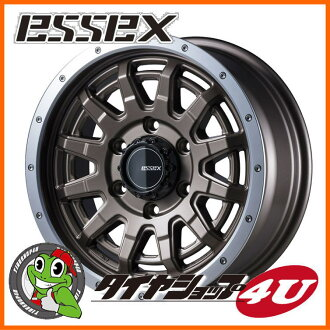 16 inches of ESSEX TYPE EX 16 X 6.5J 6/139.7 +38 semi-gross bronze Essex type EX-16 EX16 high ace 200 system