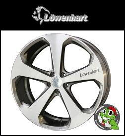Lowenhart LV5 22×10.0J 5H-150 ET52ブラッシュド/ディープグレイ ランドクルーザー200(ZX対応)、LEXUS LX570当社指定輸入タイヤ 305/40R22 レーベンハート 20インチ 新品タイヤホイール4本セット価格