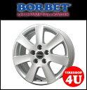 15インチ 新品 BORBET ボルベット タイプCA 1565 15x6.5 5/108 INSET40 フォード モンデオトーラス 1台分で送料無料