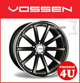 20インチVOSSEN ヴォッセ VVC CV1 マットグラファイトw/ステンレスリップベンツ CLS W219 メルセデスベンツ タイヤ付4本SET 逆反り
