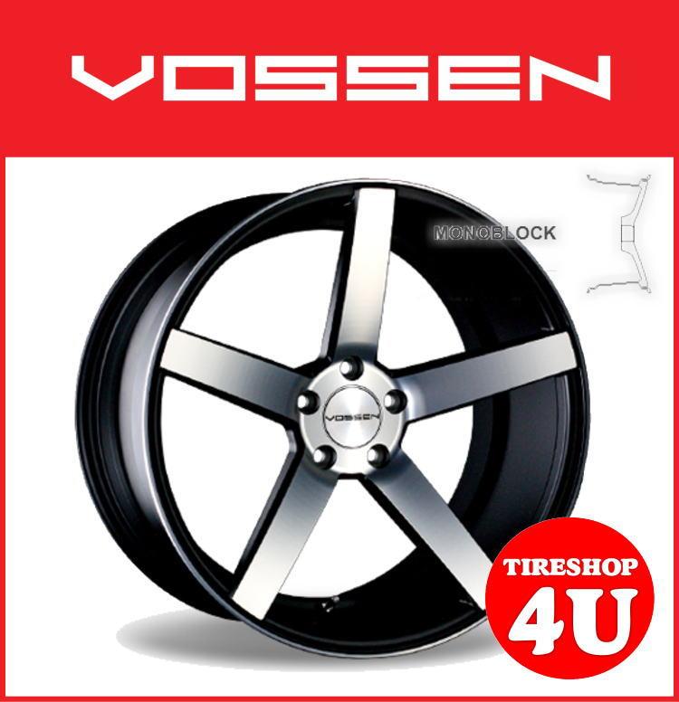 20インチVOSSEN ヴォッセ VVS CV3 マットブラックマシンドBMW 3シリーズ E90 E91 E92 BMW 5シリーズ E60 E61 タイヤ付4本SET 逆反り