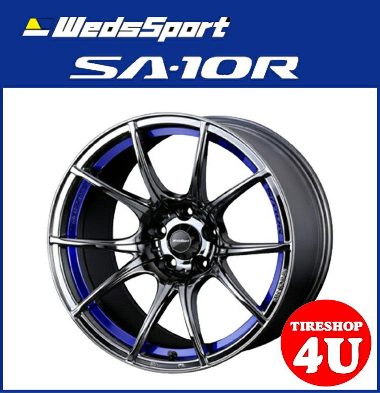 18インチWedsSport SA-10R 18×9.5J BLCランサーエボリューション10 ※要ローダウン など ブリヂストン ポテンザ アドレナリン RE002 245/40R18 新品タイヤホイール4本セット価格