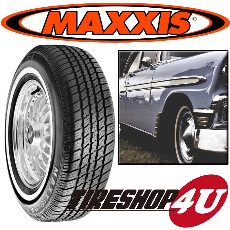 【23日9:59迄 ポイント最大10倍】新品 MAXXIS MA1 235/75R15インチホワイトリボン マキシス 単品 MA-1