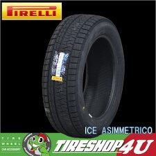 2019年製PIRELLI(ピレリ)ICEASIMMETRICO(アイスアシンメトリコ)155/65R14155/65-14送料無料スタッドレス冬タイヤ1本価格14インチ