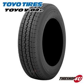 送料無料 新品 タイヤ TOYO トーヨータイヤ V-02e 145R12 サマータイヤ 夏タイヤ 単品 145-12 6PR 12インチ V02e 軽トラ