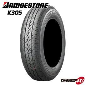 新品 タイヤBRIDGESTONE K305 145R12 6PRブリヂストン BS ブリジストン VAN用 軽トラック 軽トラ 軽バン 商用車 145-12