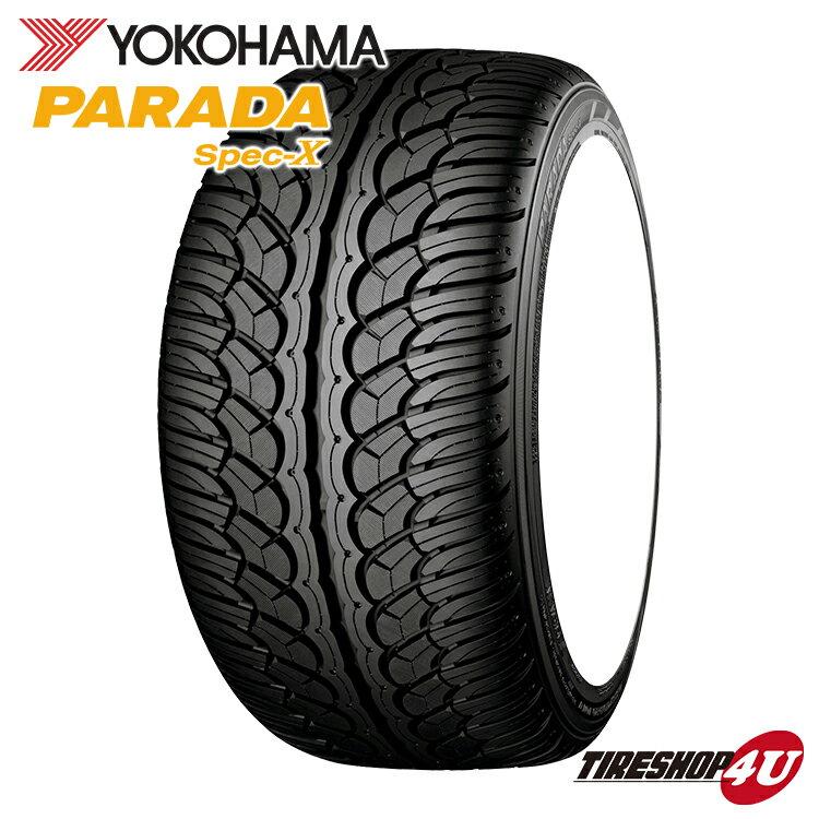 送料無料 新品 タイヤ PARADA Spec-X PA02 295/35R24 ラジアルタイヤ YOKOHAMA サマータイヤ パラダ スペックX ヨコハマタイヤ 295/35-24