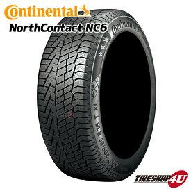 取付対象 送料無料 新品 タイヤ Continental NorthContact NC6 275/45R21 コンチネンタルタイヤ ノースコンタクト スタッドレス ウインター スノー 単品 1本価格 275/45-21