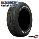 送料無料 BFGoodrich Radial T/A 215/60R15 グッドリッチ ラジアル TA ホワイトレター サマータイヤ ラジアルタイヤ …