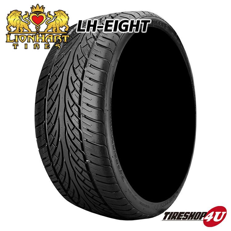 送料無料 新品 タイヤ ライオンハート LH8 305/30R26 サマータイヤ LION HART TIRES LH-EIGHT 単品 305/30-26