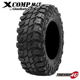 送料無料 新品 タイヤ GLADIATOR X COMP M/T 33x12.50R22 109Q 10PR XCOMP MT グラディエーター エックスコンプ マッドタイヤ ラジアルタイヤ サマータイヤ 単品