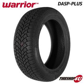 2020年製 送料無料 新品 Warrior DASP-PLUS 185/55R16 87V ウォーリアー ウォーリア DASP PLUS オールシーズンタイヤ サマータイヤ ラジアルタイヤ 単品 1本価格 185/55-16 スタッドレスの代わりに 取付対象