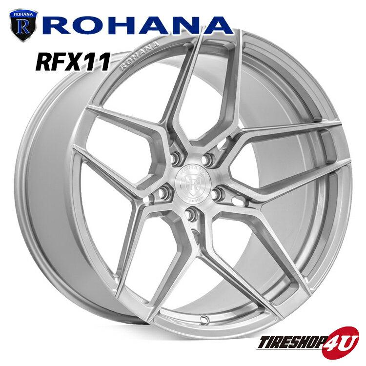 ROHANA RFX11 22×10.5 5/130 +40 ブラッシュドチタニウム ロハナ 新品アルミホイール1本価格