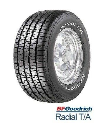 BFGoodrich グットリッチ RADIAL T/A 255/60R15 102S BFグッドリッチ ラジアルティーエー ホワイトレター(タイヤ単品1本価格)