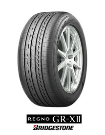 【取付対象】ブリヂストン レグノ BRIDGESTONE REGNO GR-XII 225/40R18 88W ジーアール クロスツー(タイヤ単品1本価格)