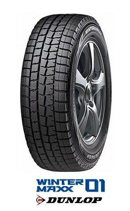 ダンロップ スタッドレスタイヤ WINTER MAXX WM01 135/80R13 70Q ウインターマックス WM01 DUNLOP(タイヤ単品1本価格)