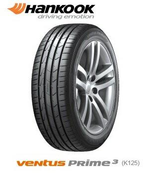 ハンコック ベンタス VENTUS Prime 3 K125 165/40R16 70V XL K125(タイヤ単品1本価格)