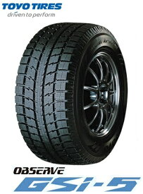 トーヨー スタッドレスタイヤ TOYO OBSERVE GSi-5 235/60R16 100Q オブザーブ(タイヤ単品1本価格)