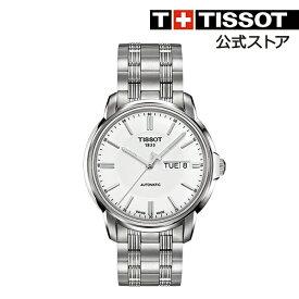 f3b750625c TISSOT 腕時計 ティソ 公式 メンズ オートマティックIII スリー オートマティック シルバー文字盤 ブレスレット 【 時計 AUTOMATIC