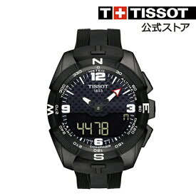 89f1fefdf0 TISSOT 腕時計 ティソ 公式 メンズ ティー タッチ エキスパート ソーラー タッチセンサー付き クオーツ ブラック文字盤