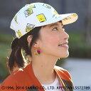 ポムポムプリンキャップ pnzfwjcd7904 / チチカカ公式 TITICACA キャラクター サンリオ SANRIO コラボ 柄 帽子 キャッ…