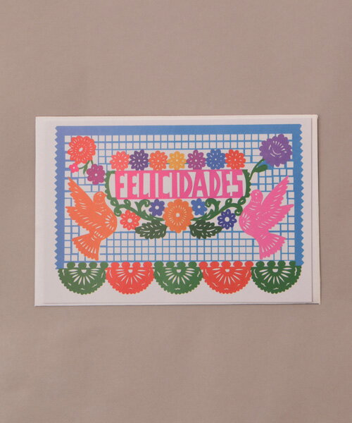 【在庫一掃セール】 パペルピカドグリーティングカードセット zdsmc2467 /チチカカ公式 TITICACA グリーティングカード メッセージカード カード 封筒付 お祝い 感謝 手紙 メキシコ エスニック アジアン カラフル 雑貨