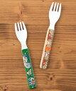 モラ&インディアンメラミンフォーク / レディース メンズ キッズ KIDS 子供 メラミン 割れにくい セット アウトドア グリーン ベージュ フォーク 食器...