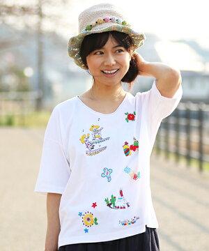 広瀬アリスさん×チチカカコラボ第2弾★ダブルスマイルスTシャツ