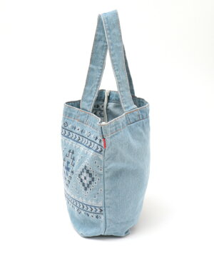 ナバホクロス刺繍トートバッグ