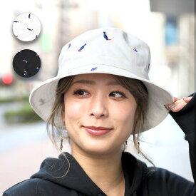 ハット 帽子 オウム アウトドア レジャー 刺繍 紫外線 UVカット メンズ レディース 春 エスニック アジアン ネイティブ チチカカ公式 TITICACA / 刺繍バケットハット zisjcb9098