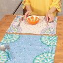 ランチョン ランチョンマット モザイクタイル おしゃれ 食器 キッチン 春 エスニック アジアン ネイティブ チチカカ公式 TITICACA / モザイクタイルランチョン zisib2330