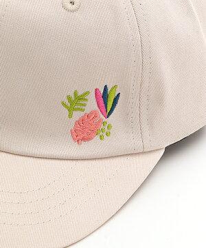 ワンポイント刺繍キャップ