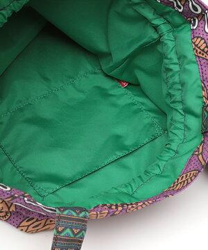 キテンゲ巾着ショルダーバッグ